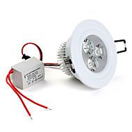3 * 1w 280lm 5500-6500k 백색 LED 천장 조명 전구 (85-265)