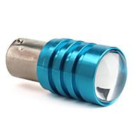 1156 1w 50lm de alta potência lâmpada LED de luz branca carro revertendo