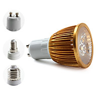 E14/E26/E27/GU10 W 3 High Power LED 270 LM Warm White PAR/MR16 Spot Lights AC 85-265 V