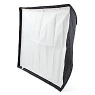 70 x 70cm Speedlight Flash diffuser reflekterende paraply softboks