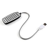 28 LED-s asztali lámpa, fehér fény (USB)
