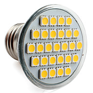 E26/E27 4 W 27 SMD 5050 300 LM Warm White PAR Spot Lights V