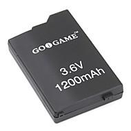 PSP에 대한 교체 배터리 팩 (3.6V, 1200mah)