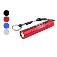 sourire de requin ss-5004A portable 1-Mode LED Flashlight (1xAA, couleurs assorties)