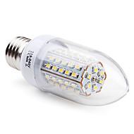 Lâmpada Vela E26/E27 3.5 W 200 LM 2800K K Branco Quente 66 SMD 3528 AC 220-240 V C