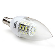 E14 W 48 SMD 3528 200 LM Natural White C35 Candle Bulbs V