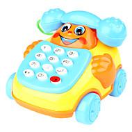 çocuklar için tekerlekler oyuncaklar (kırmızı) ile eğitici oyuncak telefon