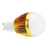 Ampoules Globe Gradable Blanc Chaud A GU10 6 W 3 LED Haute Puissance 600 LM 3000K K AC 100-240 V