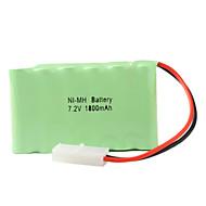 Ni-MH AA pilas (7,2 V, 1800 mAh)