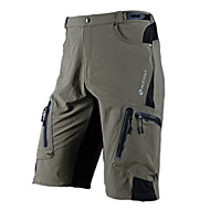 NUCKILY® Pantaloncini da ciclismo Per uomo Bicicletta Impermeabile / Traspirante / Asciugatura rapida / Zip impermeabile / Indossabile