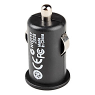 USB Car Charger Black 5V For iPhone Samsung Huawei Xiaomi and other Mobile Phone