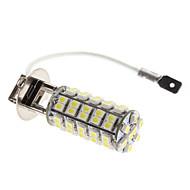 Lâmpada H3 3W 68-SMD Luz 240-270lm LED branco para luz de nevoeiro do carro (12V)