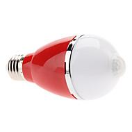 Ampoules Globe Capteur Blanc Chaud E26/E27 5 W 5 LED Haute Puissance 460 LM 3000K K AC 100-240 V