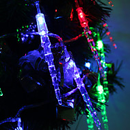 7M 30-LED Icicle-Shaped fargerike lys LED Strip Fairy Lampe til Festival dekorasjon (220V)