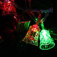 7M 30-LED Tinkle-Bell-Shaped Colorful Light LED Strip Fairy Lamp for Festival Decoration (220V)