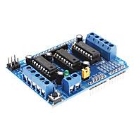 l293d motor sürücü genişletme kartı motor kontrol ekranı (mavi)