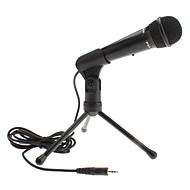 Styl klasyczny mikrofonu 3,5 mm z podstawą