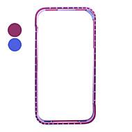 Aluminum Zircon Bumper Case for iPhone 4(Assorted Colors)