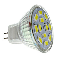 6W GU4(MR11) Faretti LED MR11 12 SMD 5730 570 lm Bianco DC 12 V