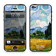 """Da koodi ™ Skin iPhone 4/4S: """"Wheat Field ja sypressit"""" Vincent van Gogh (mestariteokset Series)"""
