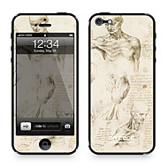 "Da Kode ™ Skin for iPhone 4/4S: ""Sketches"" av Leonardo da Vinci (Mesterverk Series)"