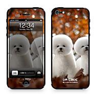 """دا كود ™ الجلد ل 4/4S فون: """"الكلاب الأبيض"""" (حيوانات السلسلة)"""