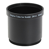 52mm Tube Adaptateur et filtre pour Kodak Z612/Z712/Z812 Noir