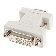 DVI 24 +1 auf-VGA-F / M Adapter