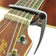 MEIDEAL - 航空機グレードアルミ合金銀メッキギターのカポ
