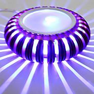 3 Ενσωματωμένο LED Μοντέρνο/Σύγχρονο Γαλβανισμένο Χαρακτηριστικό for LED Mini Style Συμπεριλαμβάνεται Λάμπα,Ατμοσφαιρικό Φως Wall Light
