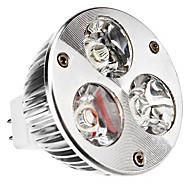 GU5.3 W 3 High Power LED 240 LM Warm White MR16 Spot Lights DC 12 V