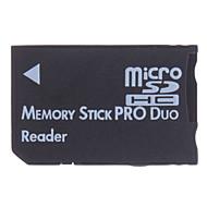 micro sd / tf lector de Memory Stick PRO Duo