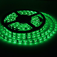 5M 20W 300x3528SMD Green Light LED Strip Lamp with AC Adapter (100-240V)
