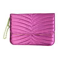 Handbag Design Drape Satin Fabrics Case for iPad mini 3, iPad mini 2, iPad mini (Fuchsia)