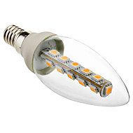 3W E14 LED Candle Lights C35 16 SMD 5050 180 lm Warm White Decorative AC 220-240 V