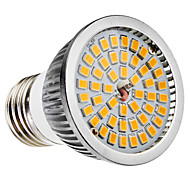 E27 6W 48x2835SMD 580-650LM 2700-3500K Warm White Light LED-Spot-Lampe (110-240V)