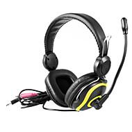 KEENION Fashionable Portable Stereo On-Ear Earphone KDM-750 (Blue,Yellow)