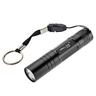 Samllsun Mini impermeabile 1-Modalità torcia LED CREE ZY-551 (240LM, 1xAA, Nero)