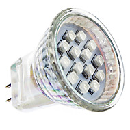 1W GU4(MR11) LED Spotlight MR11 14 SMD 3528 lm Red AC 220-240 V