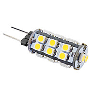 G4 1 W 26 SMD 3528 50 LM Warm White T Corn Bulbs AC 12 V