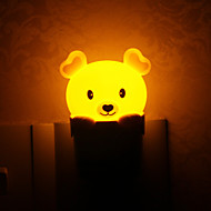 Lovely Bear Style Plug Light LED Night Light