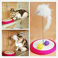 Sisal muelle helicoidal ratón Estilo Juguetes por arañazo de gato