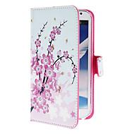 Na Samsung Galaxy Note Etui na karty / Z podpórką / Flip / Wzór Kılıf Futerał Kılıf Kwiat Skóra PU Samsung Note 2