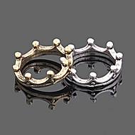 kvinders koreanske vintage krone ring (tilfældig farve)