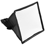 15x17cm Portable Flash Softbox hajotin speedlight Canon Nikon