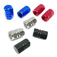 Fietsen Ventieldoppen Fietsen Rood / Zwart / Donkerblauw / zilverachtig Aluminium Alloy