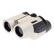 Binoculare pratica per Concerti e bird-watching (10x25) - Argento e nero