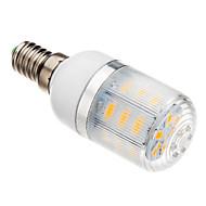 5W E14 Lâmpadas Espiga T 24 SMD 5730 530-560 lm Branco Quente AC 220-240 V