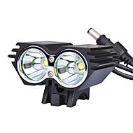 Radlichter Radlichter / Front-Fahrrad-Licht LED Lumen AC-Ladegerät Schwarz Radsport