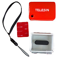 TELESIN Waterproof Backdoor,Float,3M tape for Gopro Camera